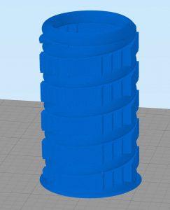 Molla processata con Simplify3D